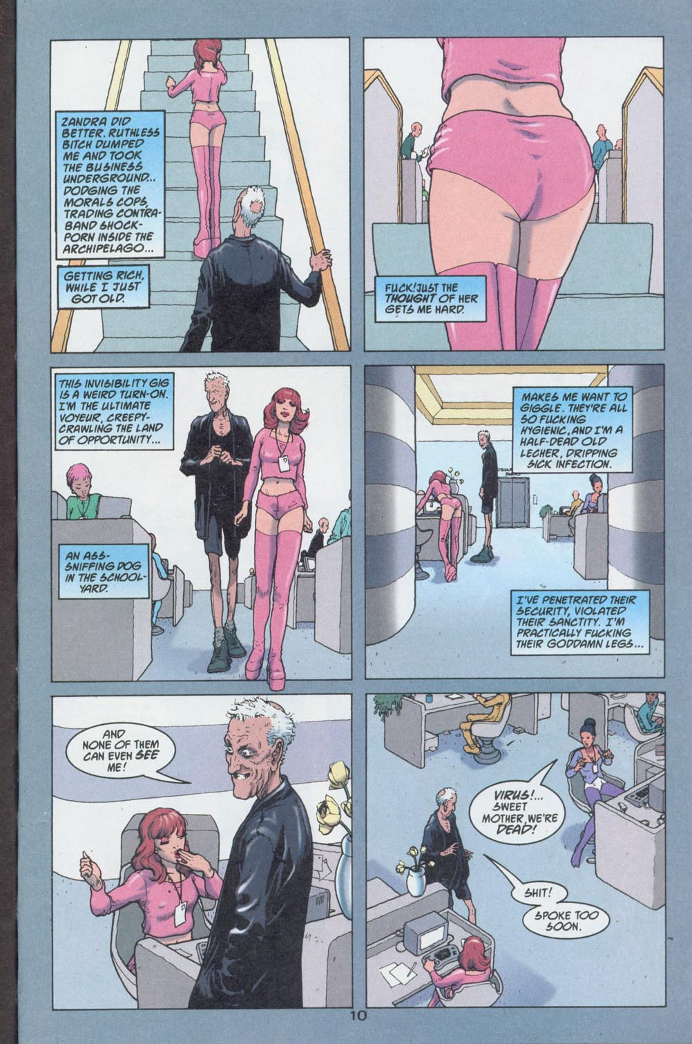 Read online 2020 Visions comic -  Issue #3 - 12
