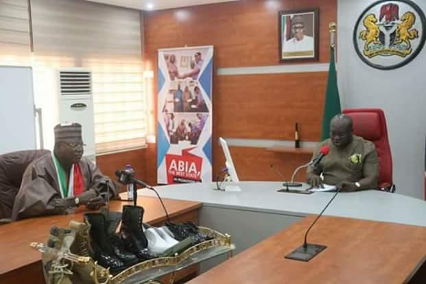 Sule Lamido visits @GovernorIkpeazu