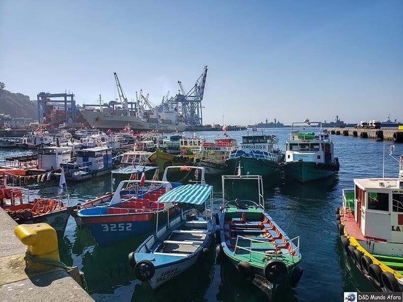 Passeio de barco - O que fazer em Valparaíso em algumas horas