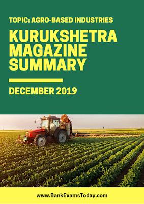 Kurukshetra Magazine Summary: December 2019