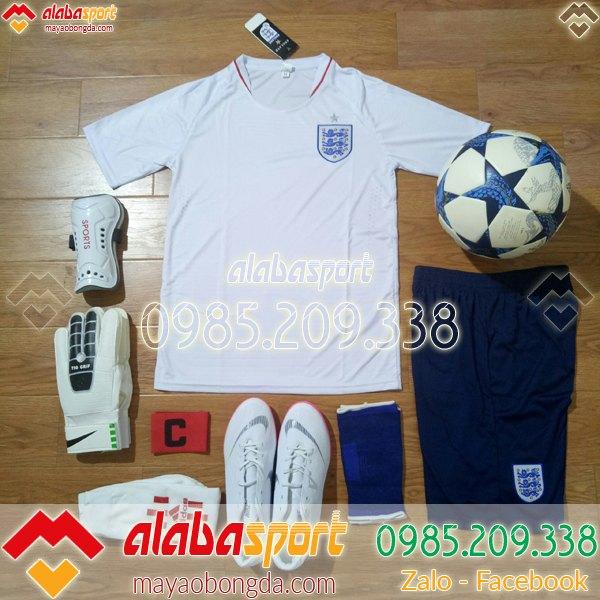Áo đội tuyển Anh trắng 2019