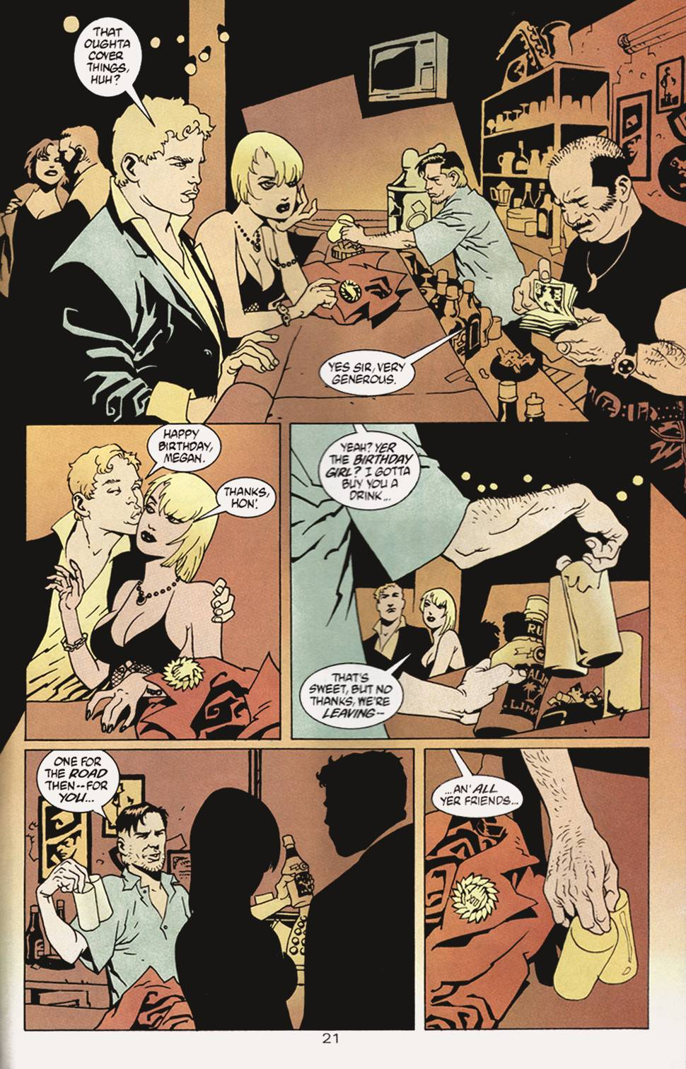 Read online 100 Bullets comic -  Issue #4 - 22