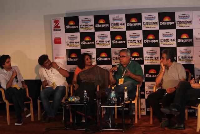 Coffee Table Session by Mayank Shekhar Writing Stars Biography with Yasir Khan, Aseem Chhabbra, Udayan Mitra, Poonam Saxena, Prakash K Ray (3)