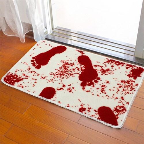 Những mẫu thảm lau chân kỳ dị trang trí nhà cửa Halloween
