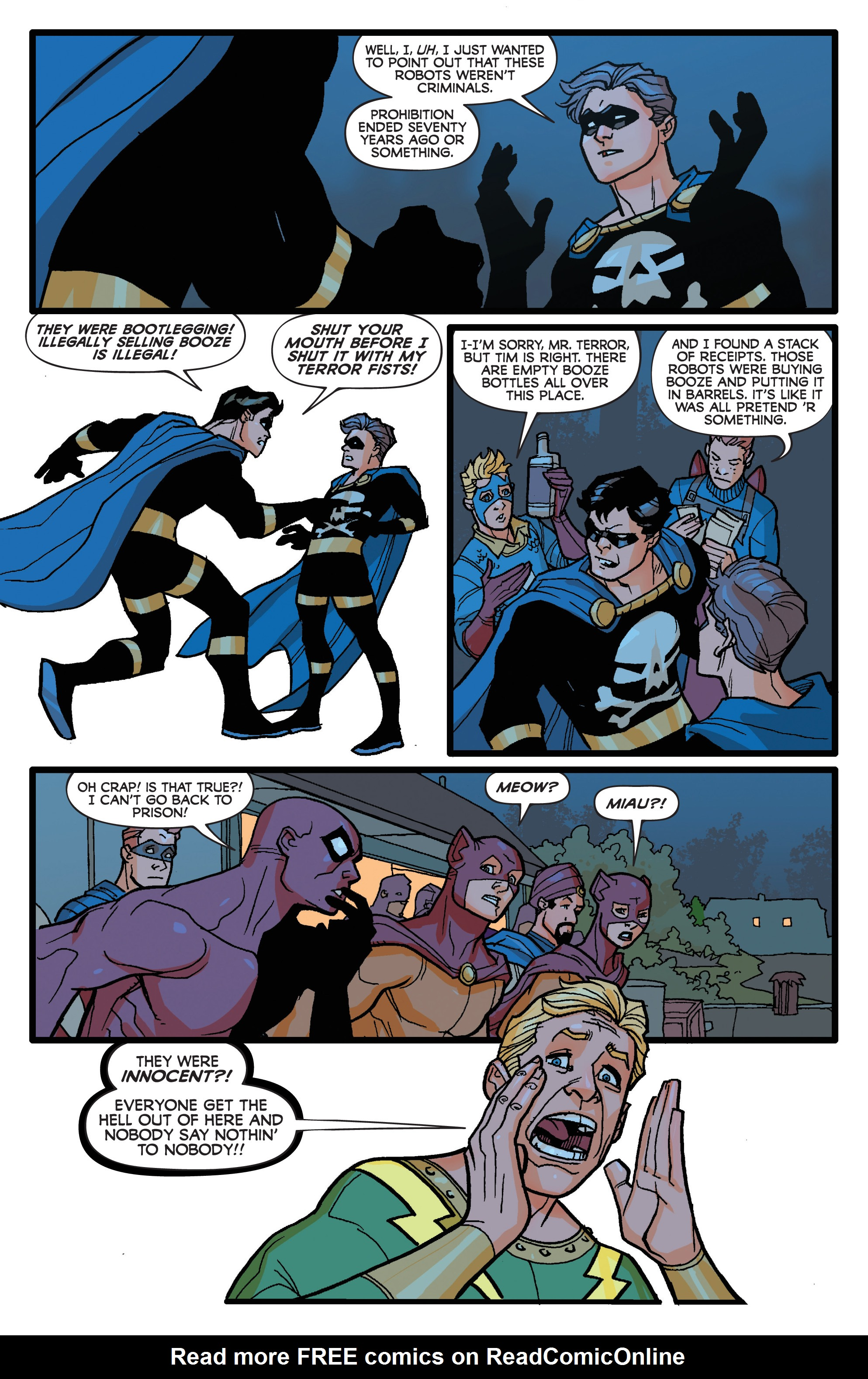 Read online Project Superpowers: Hero Killers comic -  Issue #1 - 12