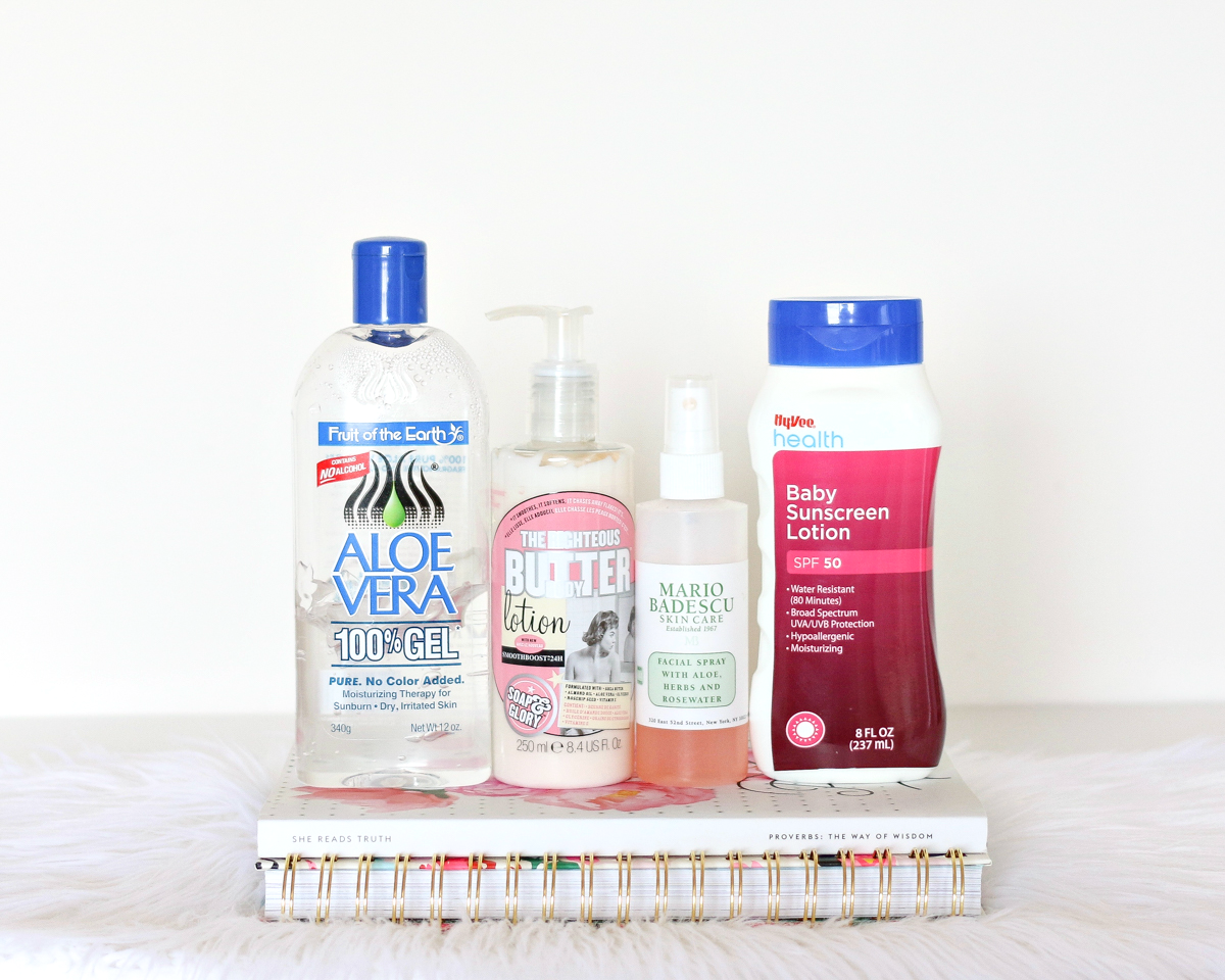 How To Battle A Sunburn | A Girl, Obsessed