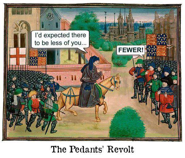 Image result for pedants revolt cartoon