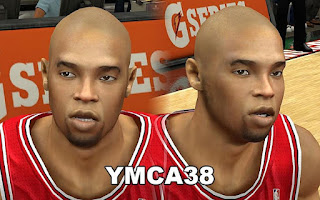 NBA 2K13 Chicago Bulls Cyber Face Pack Patch