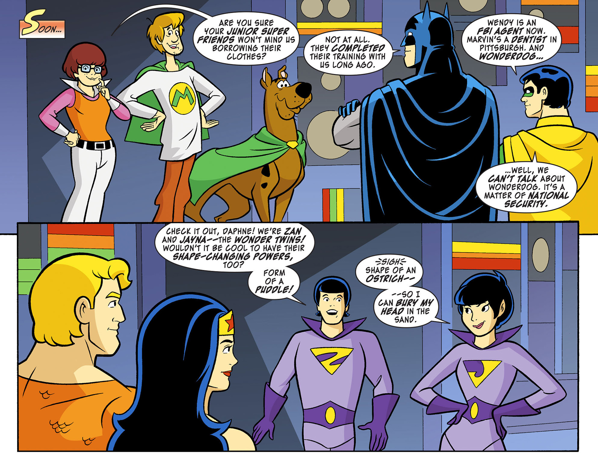 Read online Scooby-Doo! Team-Up comic -  Issue #11 - 9