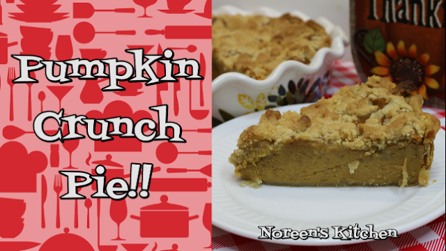Pumpkin Crunch Pie, Noreen's Kitchen