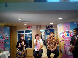 Talkshow bersama Ibu Efnie, Ibu Merliana, dan Bapak Kerry Riza