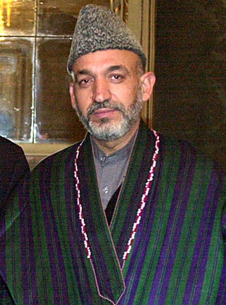 Hamid Karzai - Afghan President