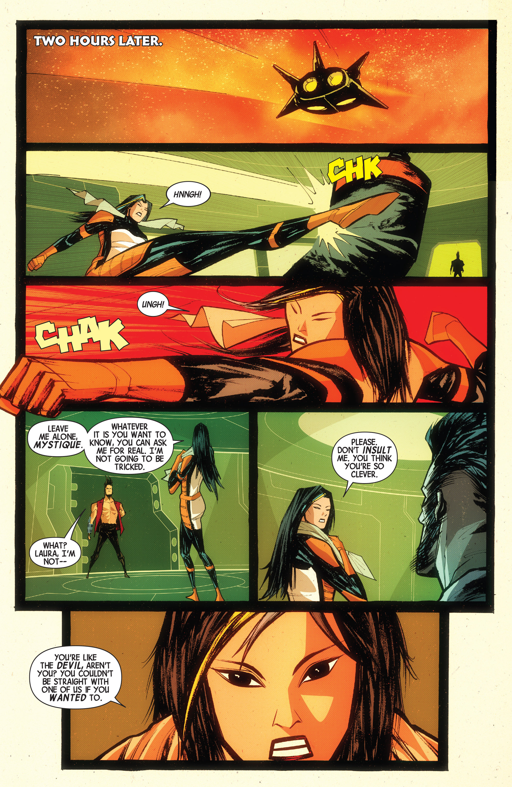 Read online Wolverines comic -  Issue #15 - 20