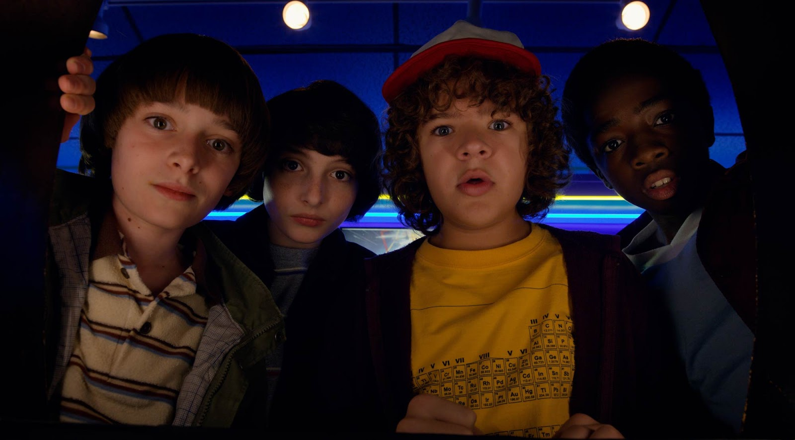 Stranger Things 2 - protagonistas