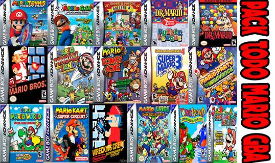 Pack Todo Los Juegos De Mario En Gameboy Advanced 1 Link Clan Mb