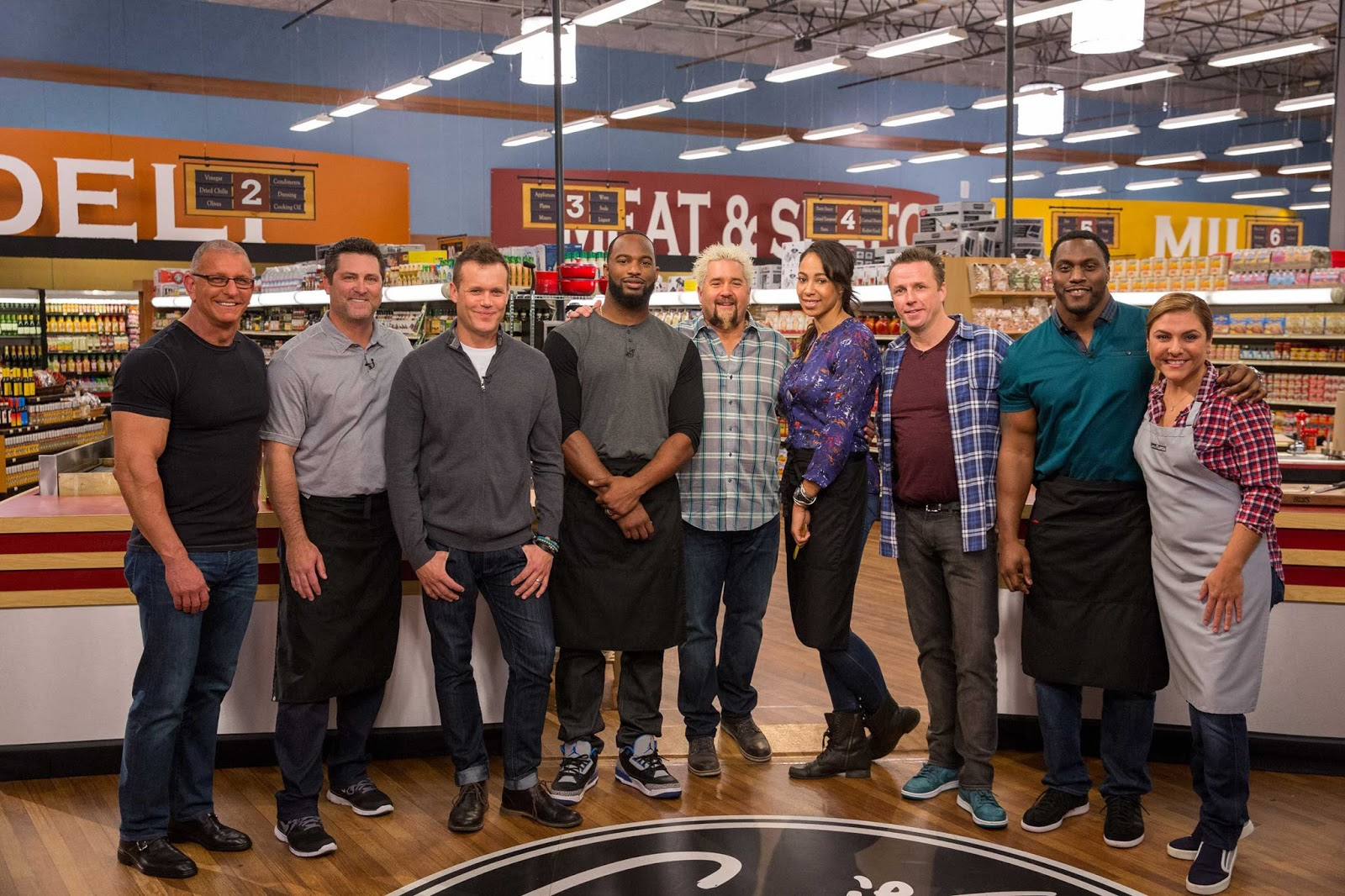 Food Network All Star Chef Show