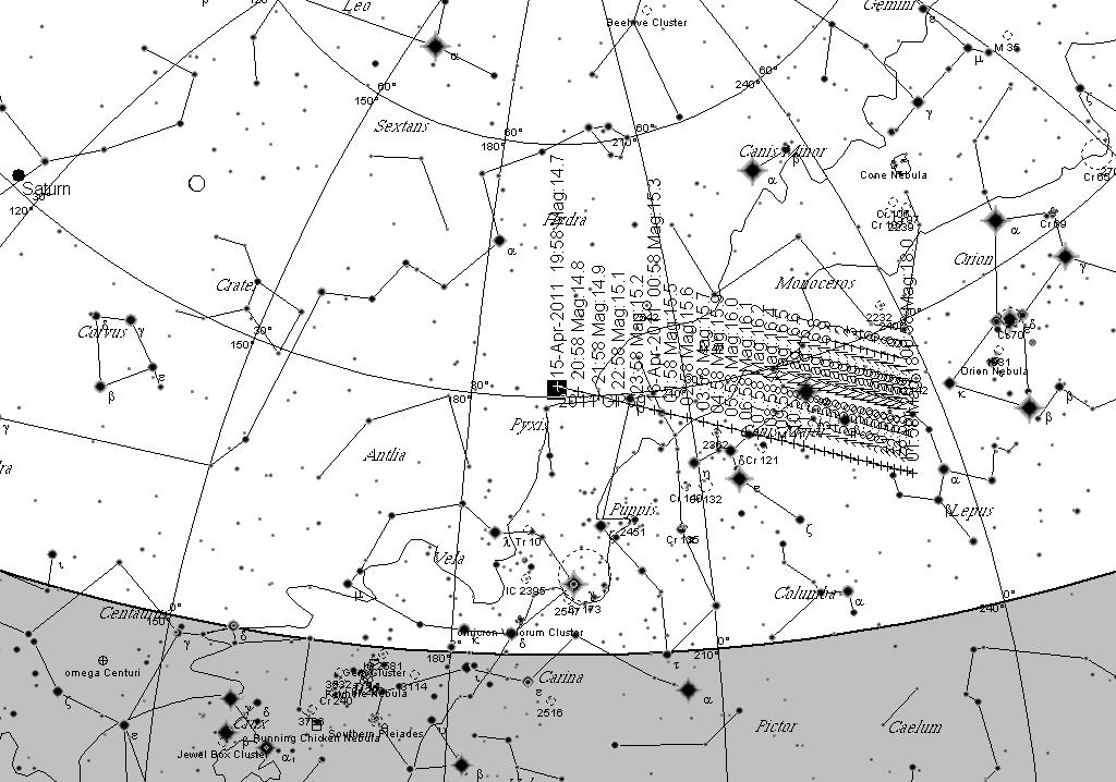 Astroblog: Videos of Near Earth Asteroid 2011 GP59