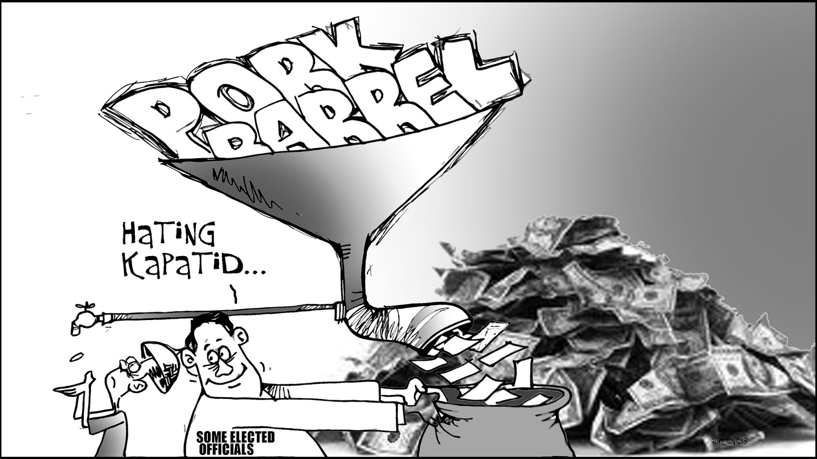 pork barrel In the beginning, a pork barrel was a barrel for storing pork over time, it became synonymous with ready supply of money, and eventually with government projects or appropriations designed to please voters sometimes, the term is used, simply, as pork, instead of pork barrel earliest documented.