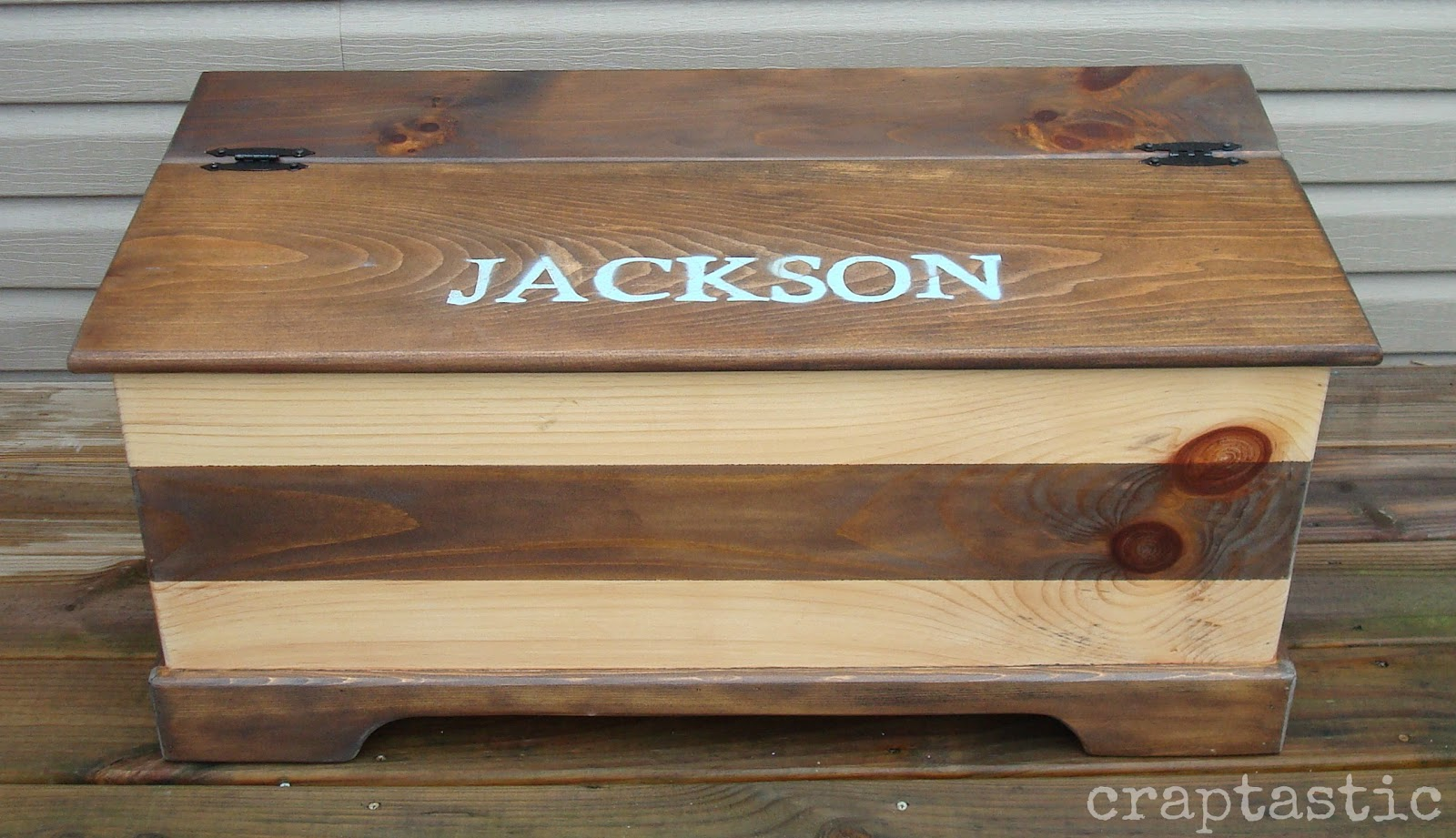 diy toy box bench plans | Quick Woodworking Projects