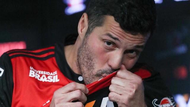 'Quero encerrar a carreira com título pelo Flamengo', diz Júlio César