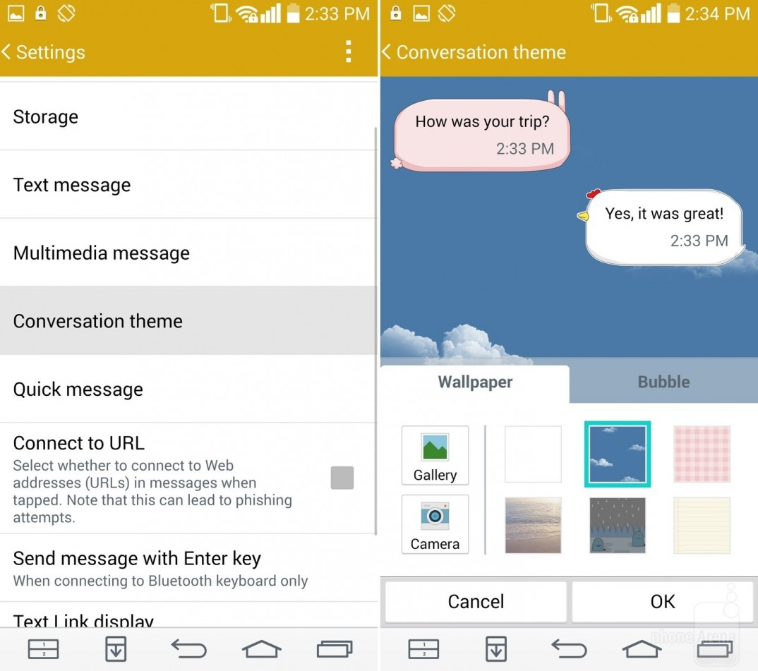Message Themes For Android