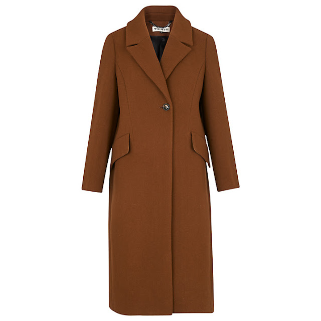 whistles bonnie coat, whistles tan coat, whistles brown coat,