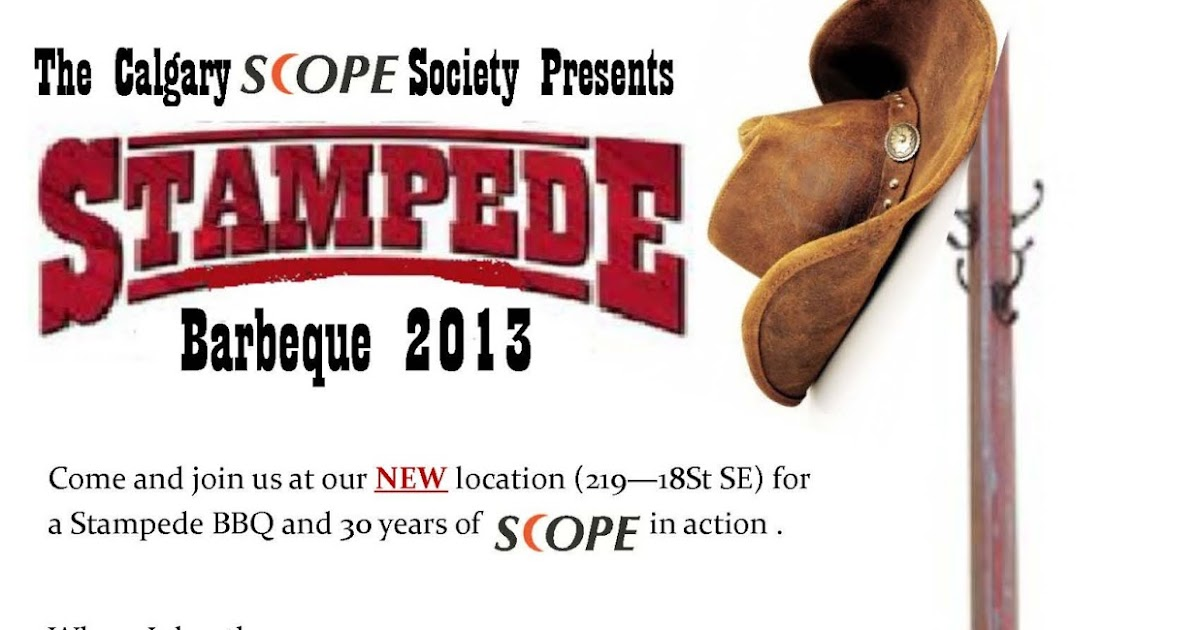 Disability Action Hall Your Invited To The Calgary Scope
