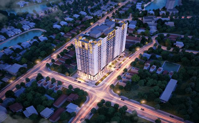 Phối cảnh dự án chung cư One 18 Ngọc Lâm Long Biên
