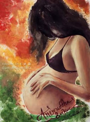 Art of Pregnanat Women - Valobasa