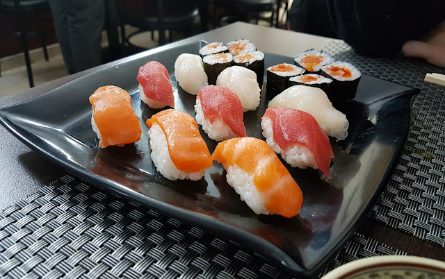 restaurante Tian Fu buffet libre japonés