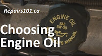 engine oil cap showing preferred oil type