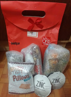 hampers lifull produk dibubble wrap