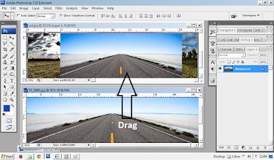 Tutorial Photoshop, Tutorial Photoshop untuk pemula, belajar photoshop, fantasy art, efek fantasy, cara membuat efek fantasy di phosohop.