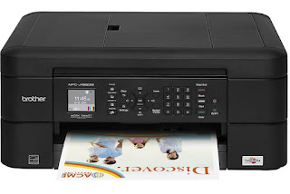 Print essential archives ideal from your perfect prison theatre cellphone cry upwardly with this printer Brother MFC-J485DW Drivers Download, Review And Price