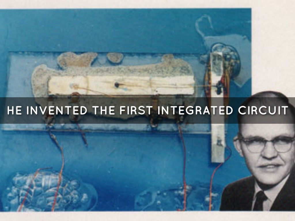 jack kilby of texas instruments invented the integrated circuit injack kilby of texas instruments invented the integrated circuit in 1958 his invention used a wafer of germanium, and robert noyce of fairchild
