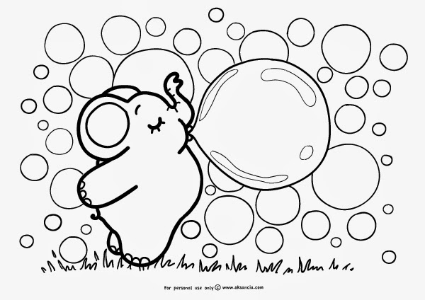 Coloring pages of bubbles ~ Elfa Books