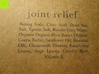 joint relief Inhaltsstoffe: Badekugeln Geschenkpackung - 6 grosse Bio Badenbomben pro Packung - Einzigartige, luxuriöse und sprudelnde Kugeln - die ideale Geschenkidee - Hergestellt in den USA (Beauty by Earth)