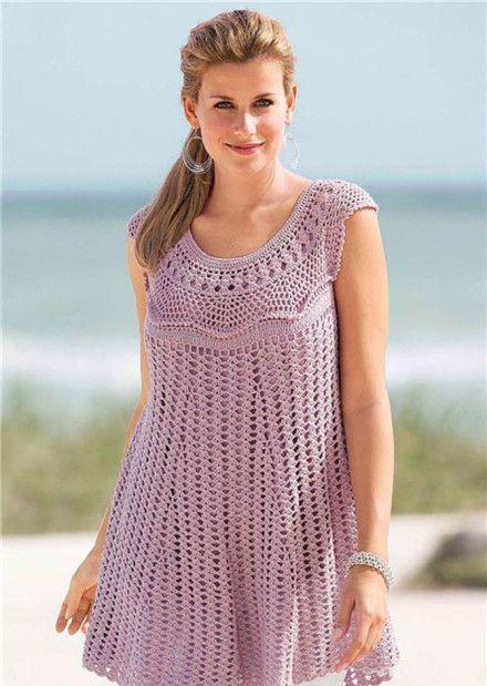 Patrón #797:Blusa a Crochet