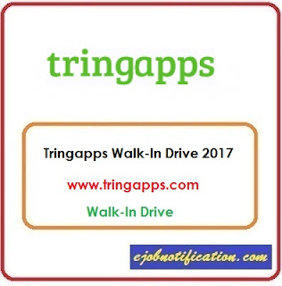 Tringapps Research Labs Freshers Walk-In Drive jobs in Bangalore 23rd Sep'2017