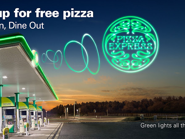 #BPDriveInDineOut With BP And Pizza Express