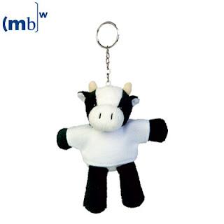 Llavero de vaca para todos.