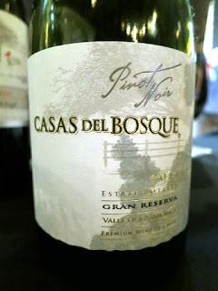 Casas del Bosque Gran Reserva Pinot Noir 2014 (89 pts)