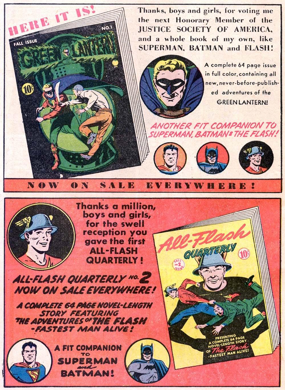 Read online All-American Comics (1939) comic -  Issue #33 - 16