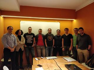 Grupo curso abierto de TDD de Noviembre 2017 en Barcelona