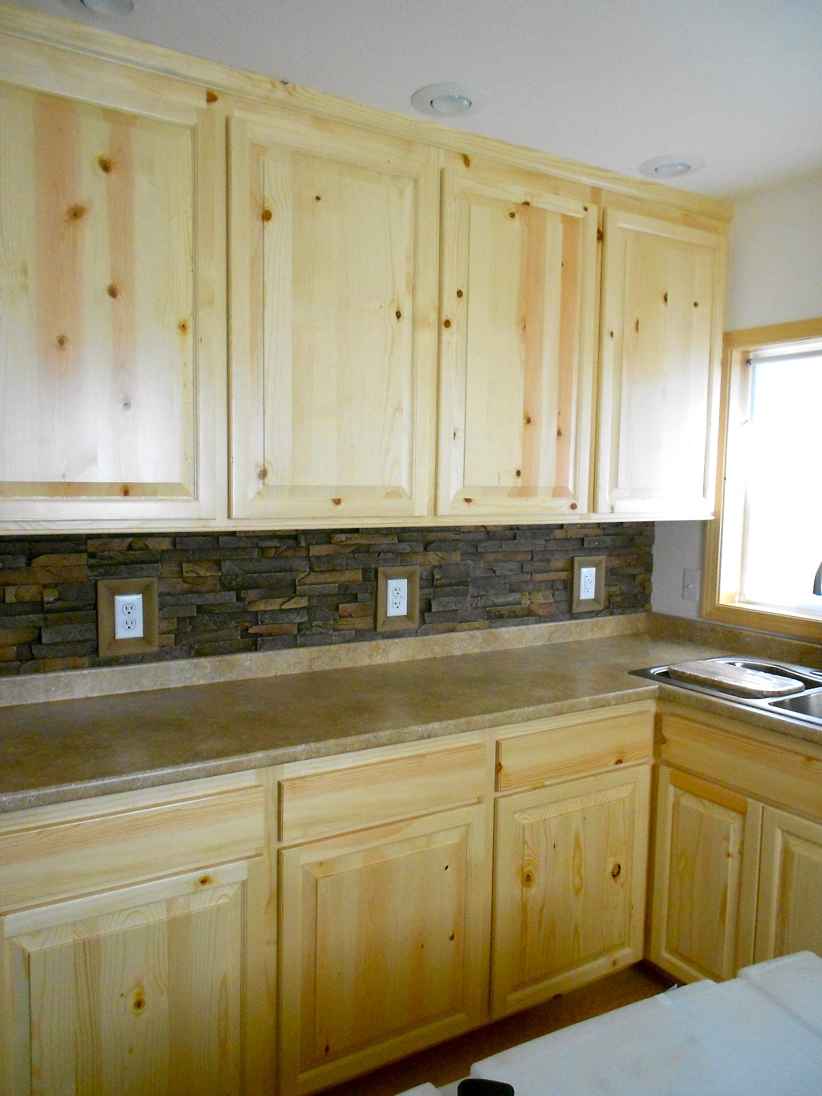 Birch Cabinets For Small Kitchen Architectural Wood Designs: Knotty Pine Cabinets