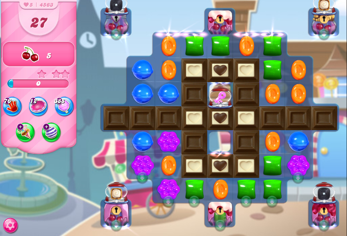 Candy Crush Saga level 4563