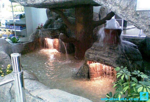 AVM yapay kaya ile havuz