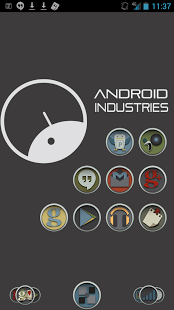 Round Distinct Launcher Theme 1.0 Android APK