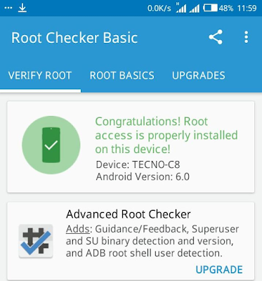 How to Root Tecno Camon C8 Running Android 6.0