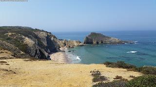 PORTUGAL, BEACH / Praia dos Alteirinhos, Zambujeira do Mar, Odemira , Portugal